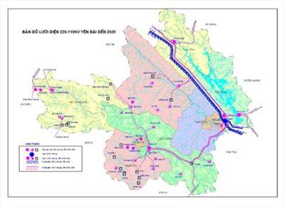 Power Development Plan of Yen Bai Province for Period 2011  - 2015, with Outlook to 2020